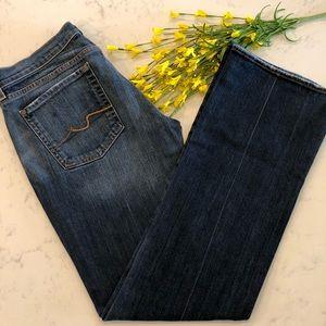 7FAMK Bootcut Jeans EUC